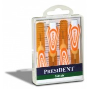 President Periute interdentare classic portocaliu XS x 4bc