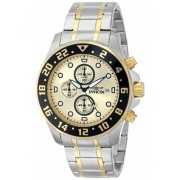 Invicta Watches Invicta Men's 15940 Specialty Analog Display Japanese Quartz Two Tone Watch GoldTwo Tone