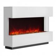Klarstein Studio-1, бяла, електрическа камина, LED симулация на пламъка, 750/1500 W, 40 m² (FP4-Studio-1)