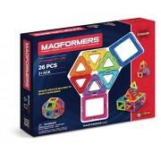 Magformers Set, Multi Color (26 Pieces)