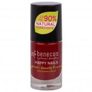 Benecos Nail Polish Happy Nails, 5 ml, Cherry Red