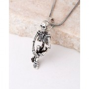Dare by Voylla Evil Collection Detailed Skeleton Pendant