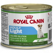 24x195 g Royal Canin Mini Adult Light kutyatáp