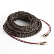 Numan кабел за репродуктор, OFC, меден, 2 x 3,5 mm², 5 m, текстилна облицовка, стандартизиран (CJ-2x3,5mm-5m-Con100)