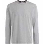 Comme des Garçons Shirt T-Shirt Comme Des Garçons Shirt manica lunga in cotone grigio