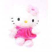 Jemini hello kitty knuffel doll pluche meisjes roze 15 cm