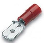 Cembre Capicorda Preisolato 6,35x0,8 Ad Innesto Maschio Rosso Rf-M608 Confezione 100 Pz