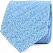 Krawatte Seide Hellblau 9-17 - Blau