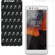 Nokia 3.1 AntiGlare Screen Guard By Dream Makers 5D 7 LAYER NON-BREAKABLE GLASS