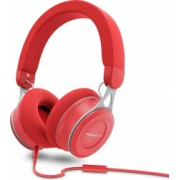 Casca audio Energy Urban 3 on-ear microfon cablu detasabil rosu