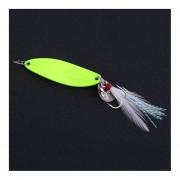 Eh YAPADA pesca con señuelos 15g spoon012-Verde