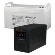 Комплект ИБП Инвертор Энергия Гарант 500 + Аккумулятор 100 АЧ