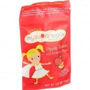 Mysupersnack Soft Granola Bites - Apple Raisin - 1.41 oz - Case of 6