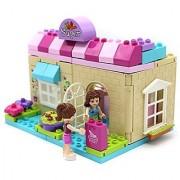 Fashion Supermarket Building block 73 pieces Duplo compatible toy set for preschoolers
