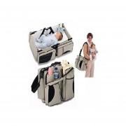 Pack 2 Bolsos Cuna Bebe Viajes Seguro Cómodo