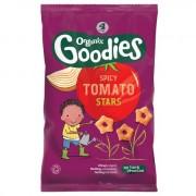 Snack Organix Goodies, Stelute Spicy din Porumb expandat, 4x15 g, de la 1 an