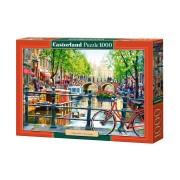 Castorland Pussel Kanalen i Amsterdam 1000 Bitar