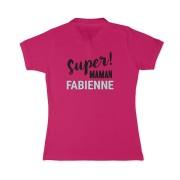 YourSurprise Polo personnalisé - Femme - Fuchsia - M