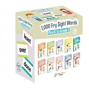 Little Champion Reader 1,000 Sight Fry Dolch Word-List Flashcards In 10-Pack Bundle Set, Pre-K To 3Rd Grade, Teaches High-Frequency Words