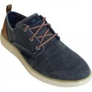 """""""Skechers Status 2.0 Pexton schoenen heren marine/bruin """""""