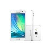 Smartphone Samsung Galaxy A3 Duos Dual Chip Desbloqueado Vivo Android 4.4 Tela 4.5'' 16GB Wi-Fi 4G Câmera 8MP - Branco