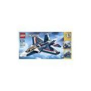 LEGO-Creator AVIÃO A Jato Azul 608 peças 31039