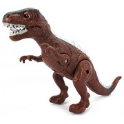 Vt Dino Valley Tyrannosaurus T Rex Battery Operated Toy Dinosaur Figure W/ Realistic Movement, Lights And Sounds (Colors May Vary)