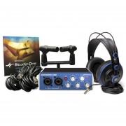 Placa De Sonido Presonus Audiobox Studio Kit De Grabación Usb