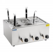 Pasta Cooker with 4 Straining Baskets and 1/3 GN-Container
