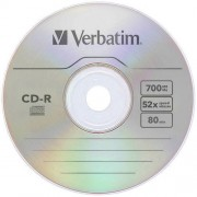 Mediu optic Verbatim 43432 CD-R 52X 700MB 1 bucata Extra Protection Surface