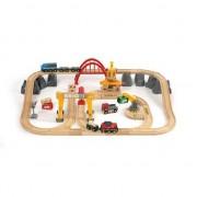 Brio Järnvägsset i trä, 54 delar - Brio Tågbana 33097