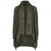 Black Premium by EMP - Fall From Grace - Cardigan - Donna - verde oliva