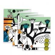 DJECO Welurowa kolorowanka dla przedszkolaków 126 cm, DJ09627
