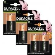 Duracell Piles Duracell Rechargeables de type D x 6 (BUN0058A)