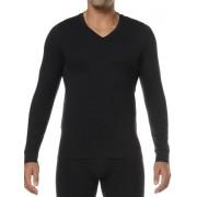 Hom Классическая мужская футболка с длинным рукавом черного цвета HOM Original 03252cK9 распродажа