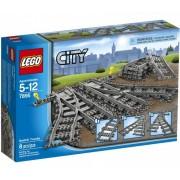 Lego Klocki konstrukcyjne City Zwrotnica Kolejowa 7895