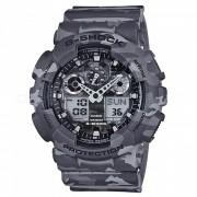 reloj de camuflaje casio g-shock GA-100CM-8A-gris