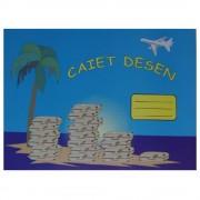 Caiet pentru Desen Albe Format A4, 24 File, 100 g/mp
