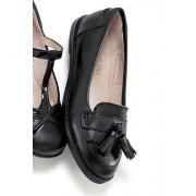 Next Black Loafer - Black/Black