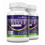 Evolution Slimming Maqui Beere Antioxidans Ergänzung 500mg-Kapseln - 120 Kapseln - Ant...