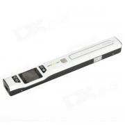 """SKYPIX TSN470 1.44 """"LCD USB 1050dpi Handheld escaner de mano de color A4 - Blanco"""