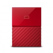 1TB Western Digital MY Passport 2.5 USB3.0 WDBYNN0010BRD Red kulso merevlemez