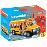 Autobus Escolar Playmobil Con Luces Y Accesorios - 5680