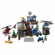 Lego Конструктор Lego City Police Полицейский участок в горах