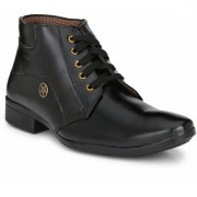 Swagonn Black Stylish Elegant Formal Boots