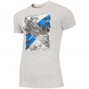 Мъжка Тениска 4F TSM025A Light Grey