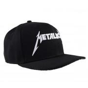 Metallica baseball sapka - Logo - Black - LIVE NATION - MTLSBCDAMP