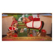 Breyer New Arrival At the Barn Playset