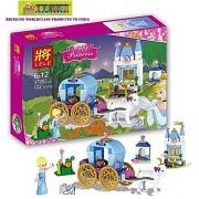 Toy-Station - LEGOO Style Blocks ( Limited Edition ) (Cinderella Princess - 122 pcs Lego Type Blocks)