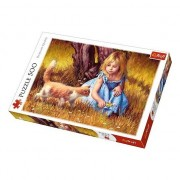 Puzzle Trefl - In the Center of Attention, 500 piese (64918)